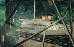 Peinture murale salon