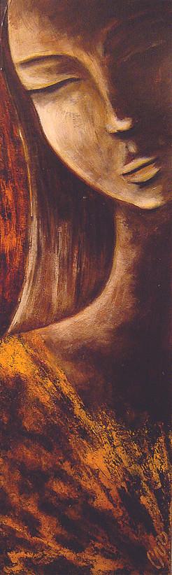 Acrylique sur carton bois 60 x 25 cm. 2006 Vendu