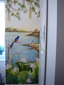 Peinture murale cuisine