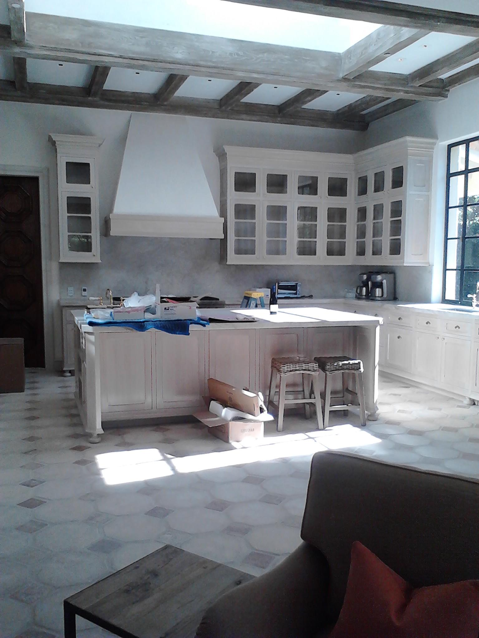 Décor peint cuisine