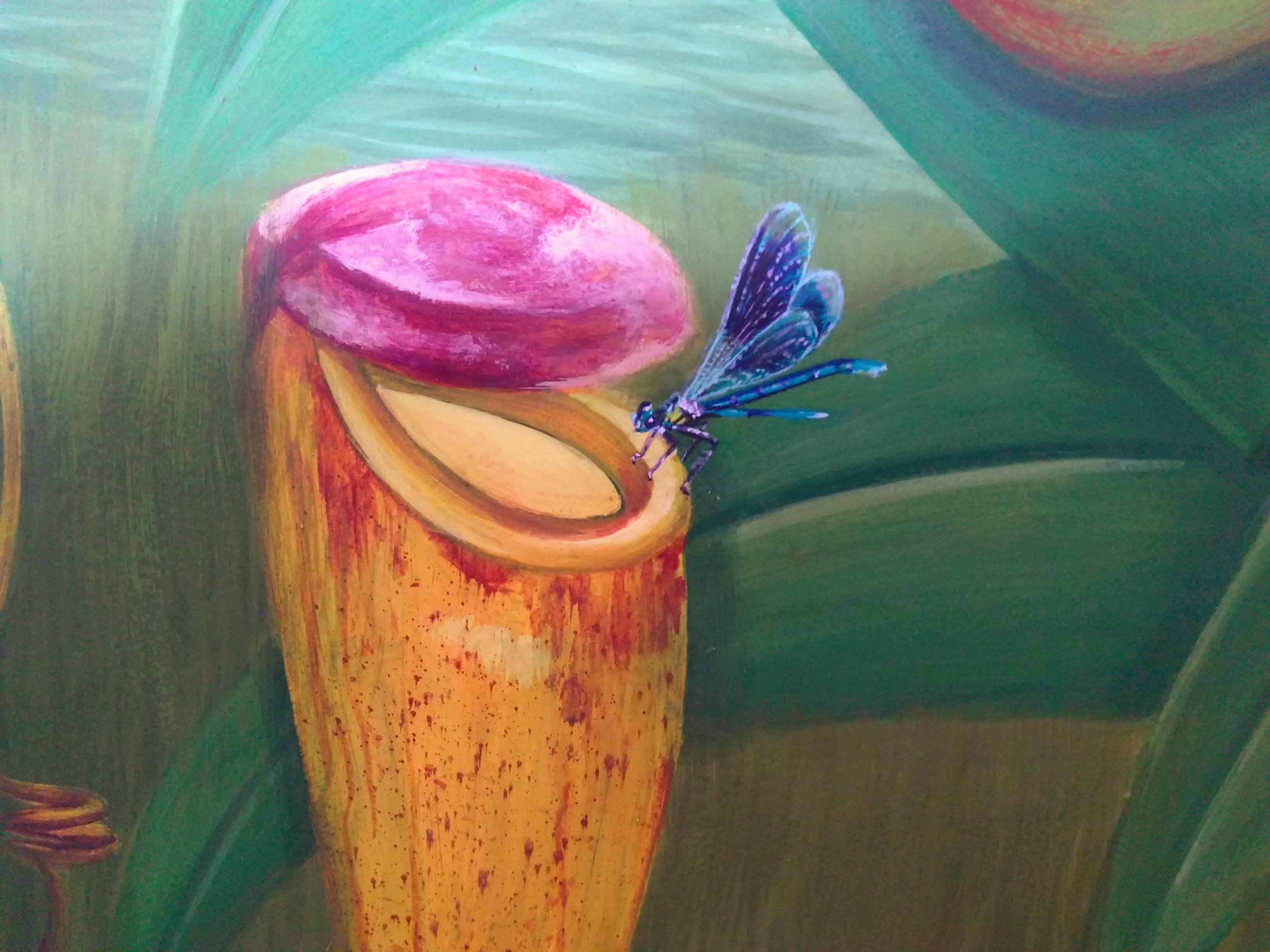 Peinture murale à la caséine