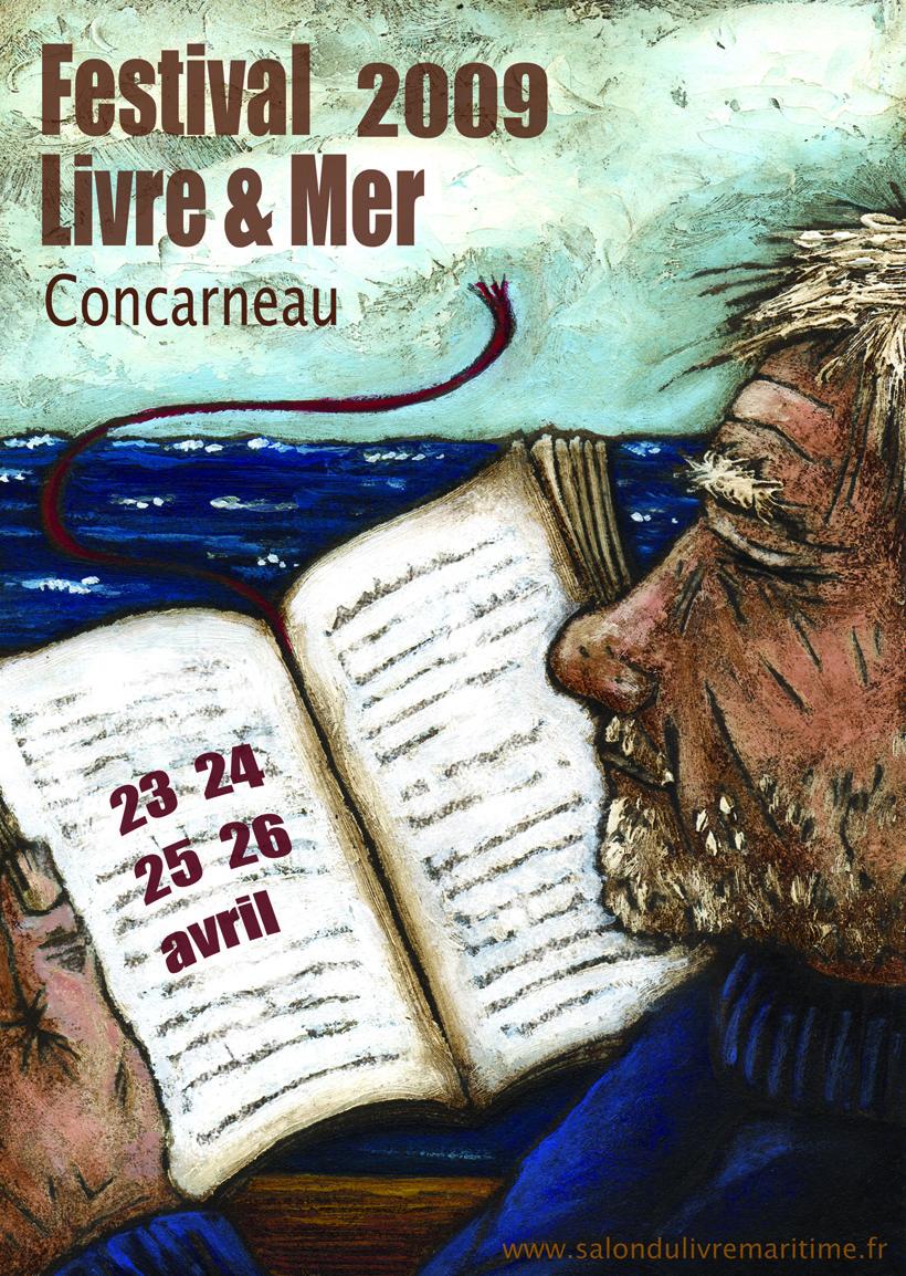 Festival livre et mer Concarneau