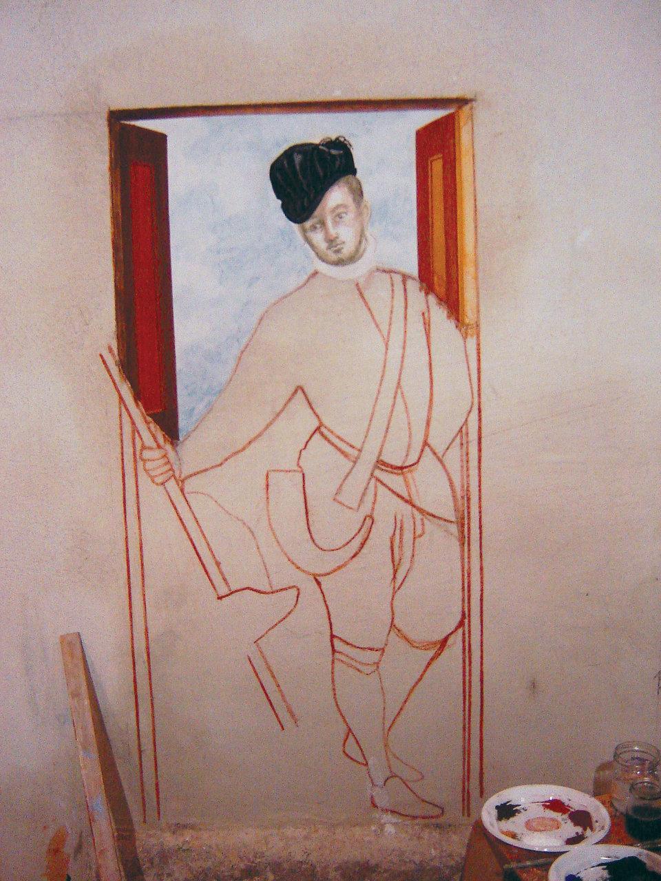 Fresque d'après Véronèse