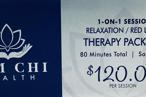80 Minutes Relaxation /LED Red Light Therapy Gift Certificate
