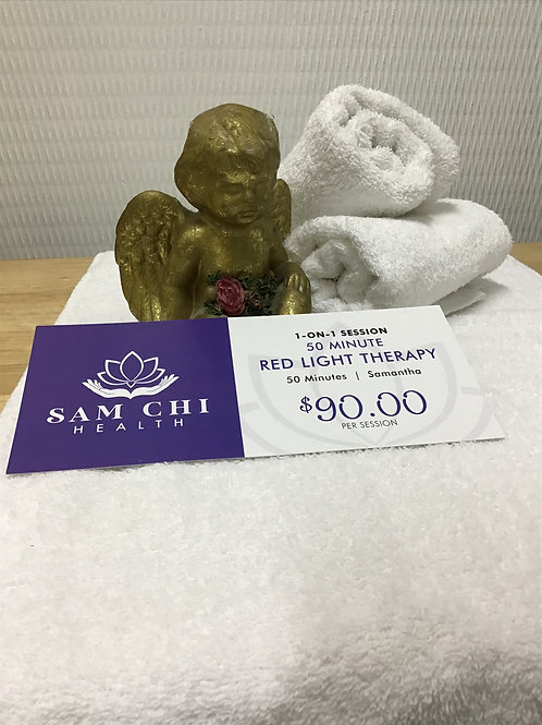 50 Minute LED Red Light Therapy Gift Certificate