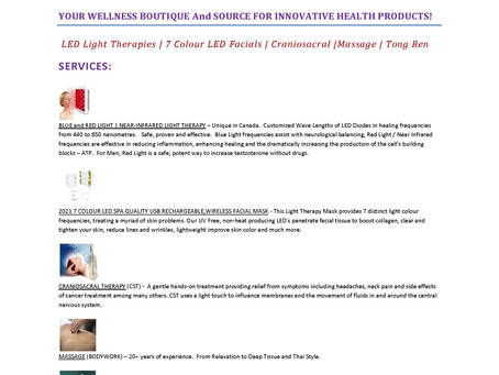 Sam Chi Health Services Blog