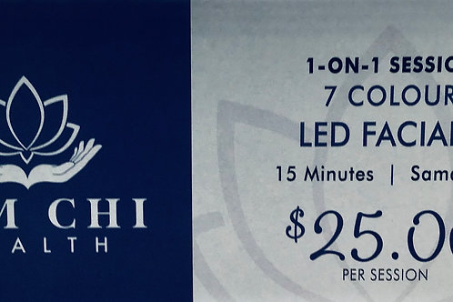 15 Minutes 7 Colour LED Facial Gift Certificate