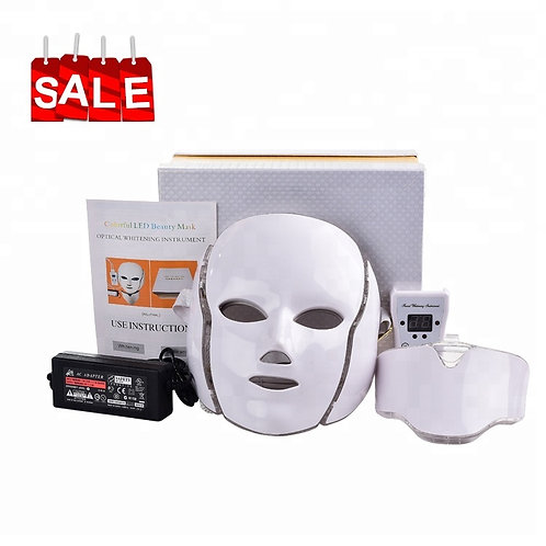 For Sale - Home Use: 7 Colour LED Face and Neck  Facial Mask for Home Use