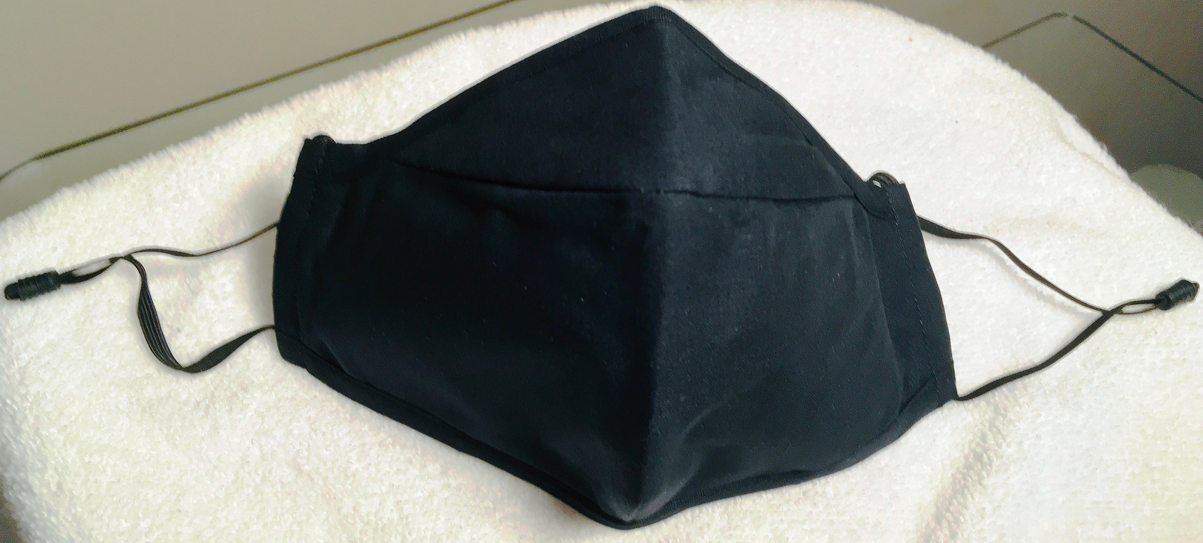 Unisex Black Copper Infused Mask