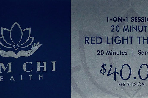 20 Minute LED Red Light Therapy Gift Certificate