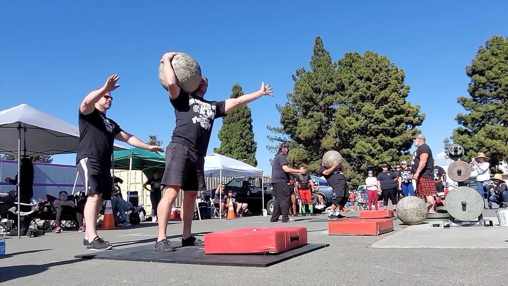 strongman  club bodytribe atlas stone