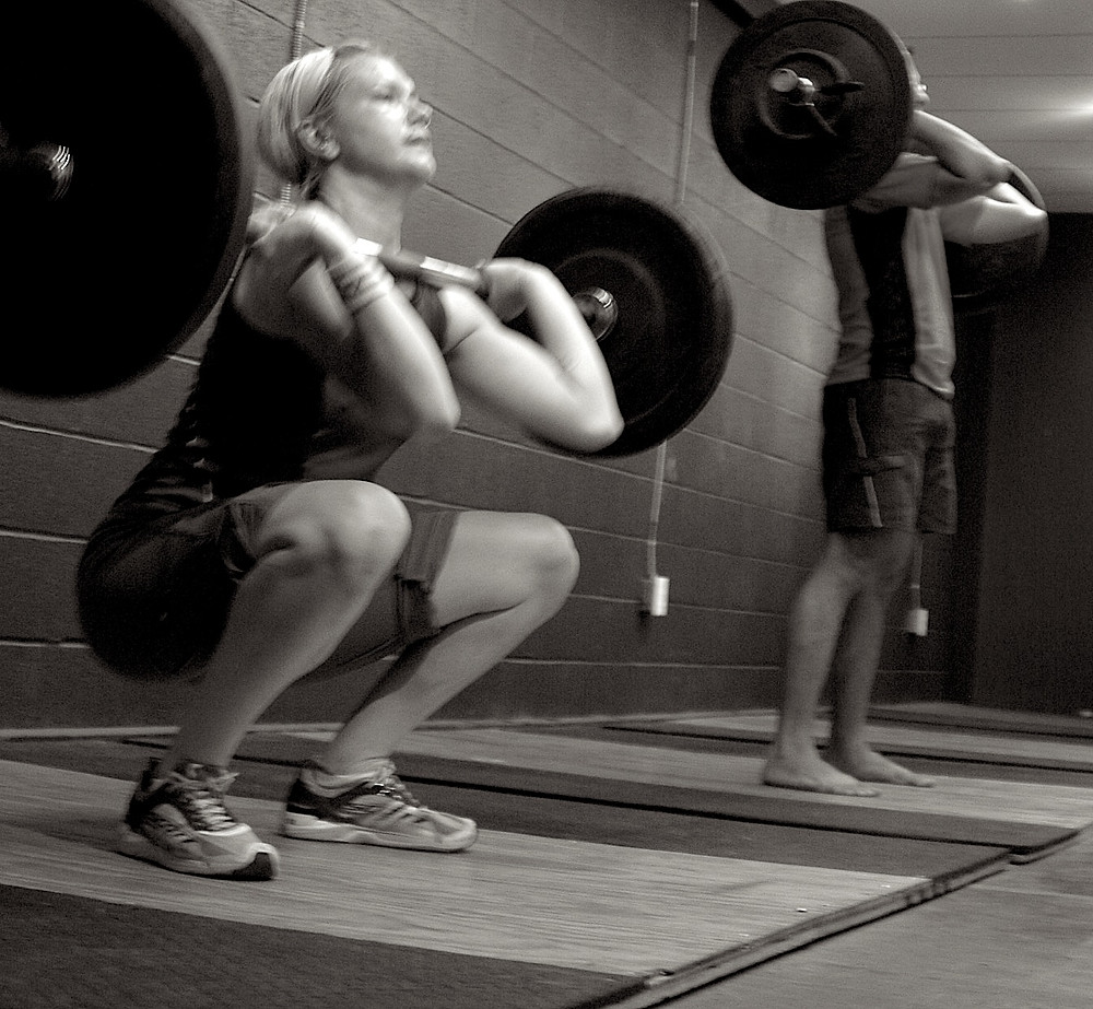 front squat cleans olympic lifts bodytribe