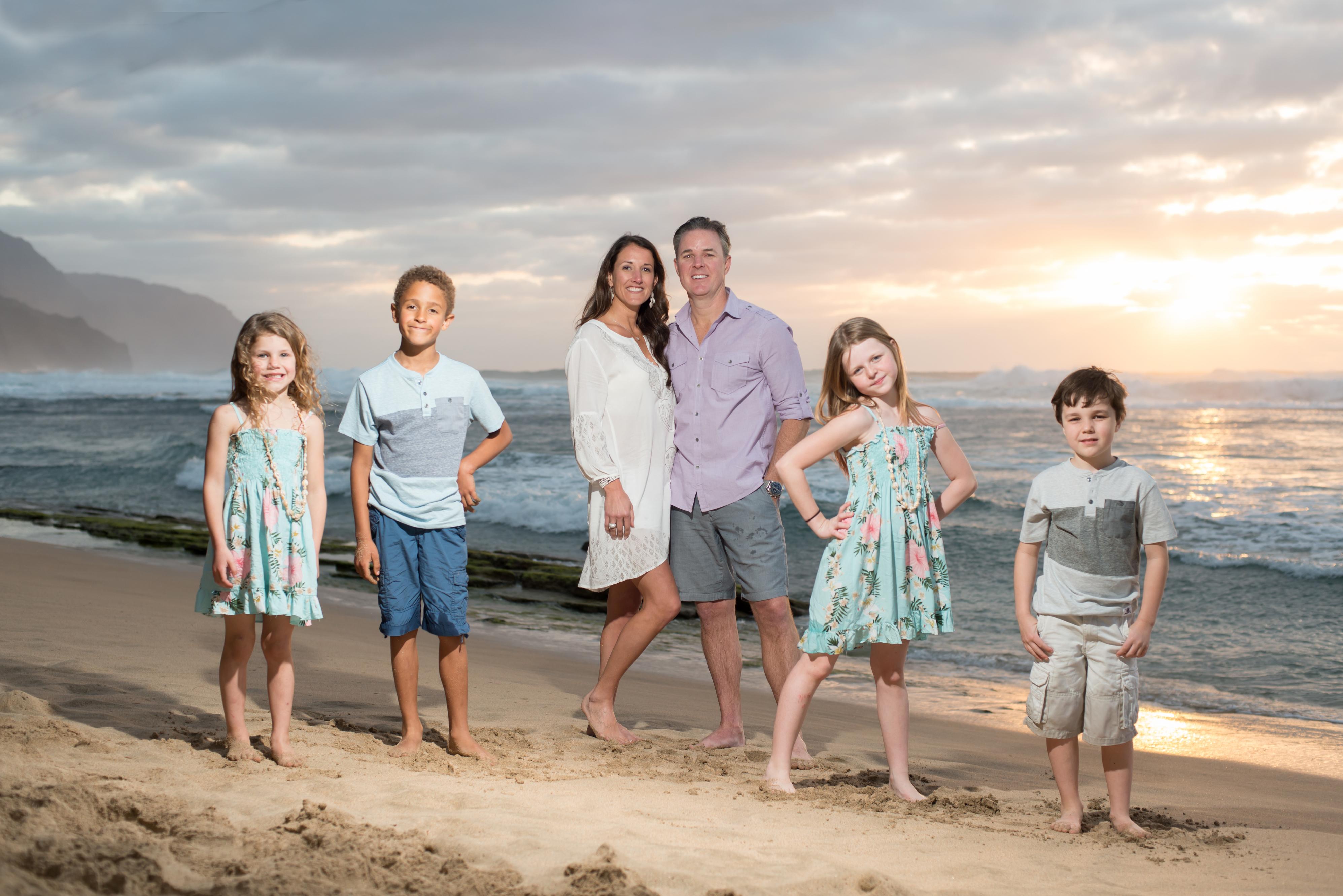 Kauai family portraits