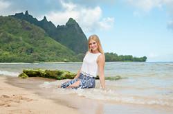 Kauai senior portrait photos