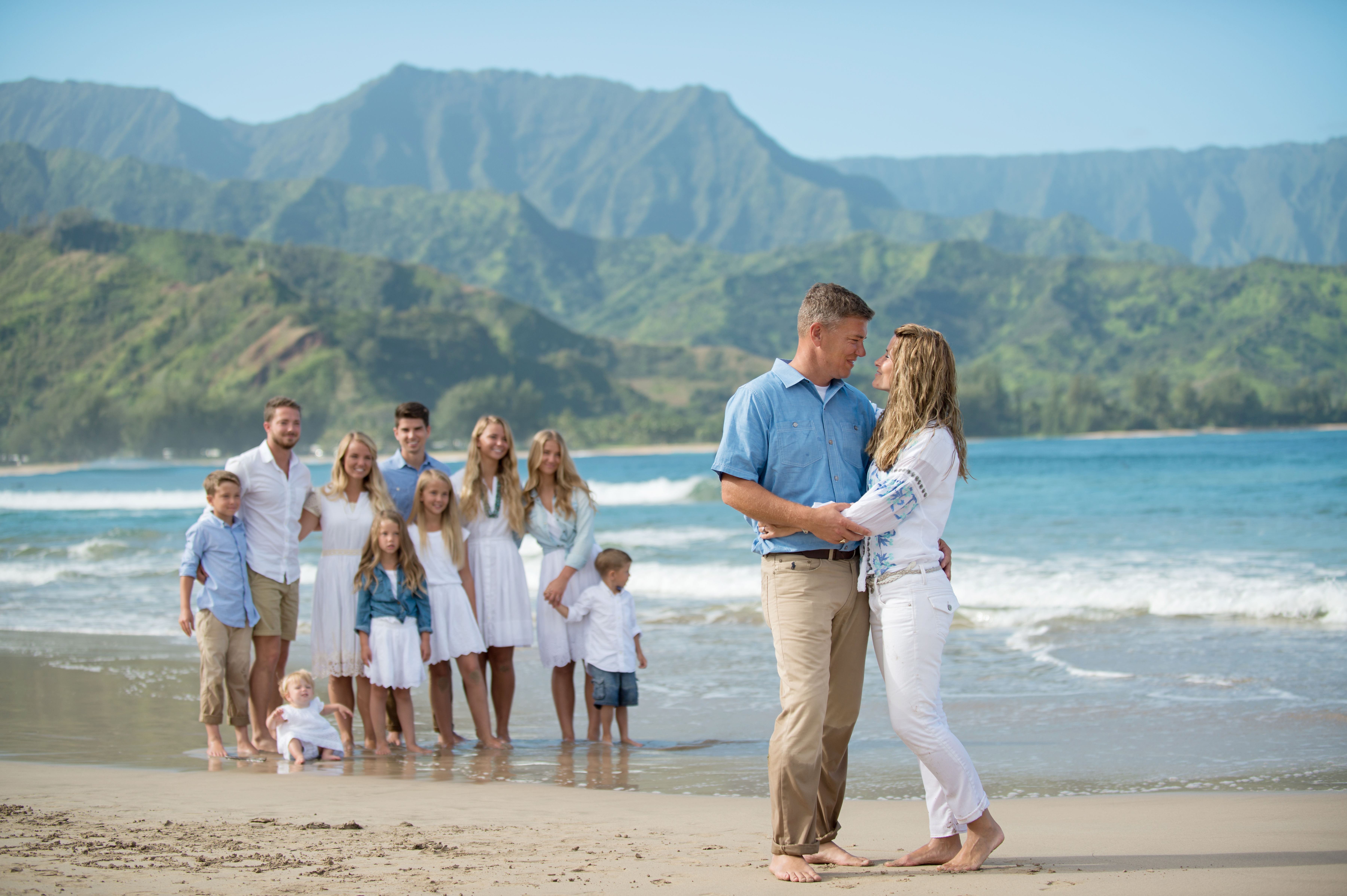 Family portraits on Kauai