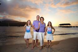 Hanalei Bay Family Portraits