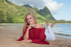 kauai senior portraits