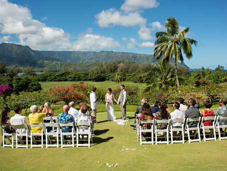 Favorite wedding venue on North Shore, Kaua'i