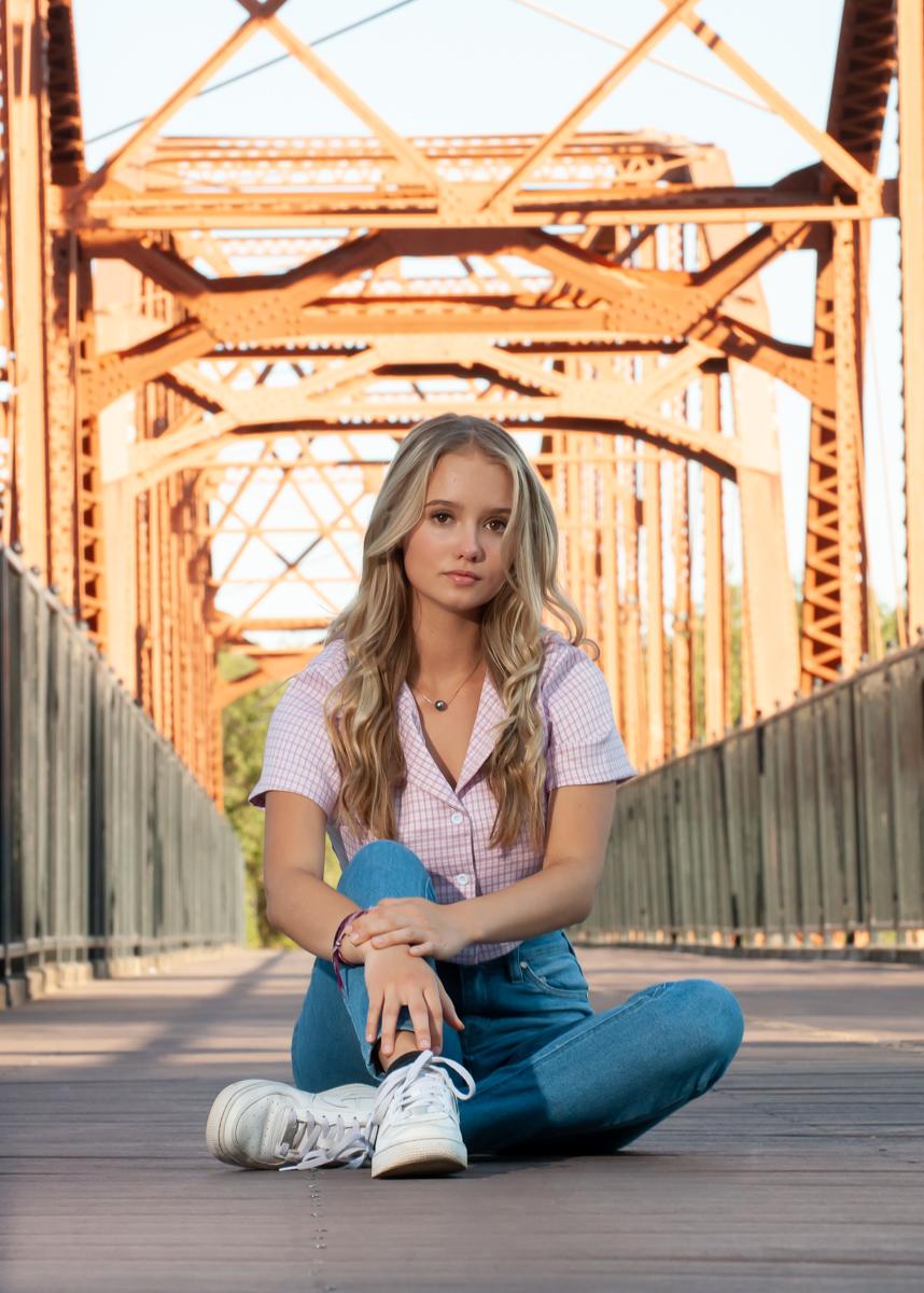 Fair Oak Bridge Senior Portraits