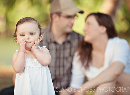 The Big One {kauai family photographer}  This precious little girl turned the big one year while vis