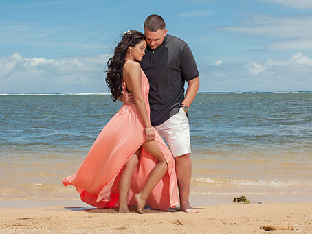 Kauai Engagement Portraits