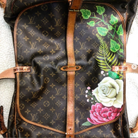 Louis Vuitton Messenger Painted Floral D