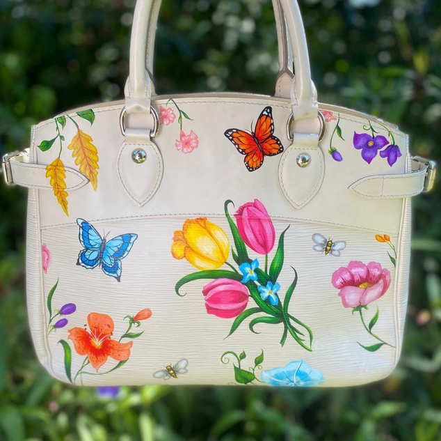 Gucci Flora Inspired Louis Vuitton Paint