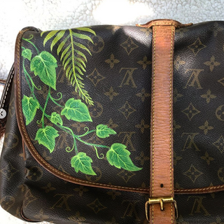 Painted Louis Vuitton Ivy