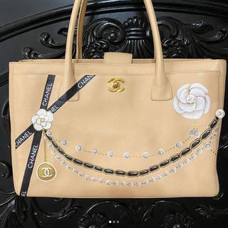 Hand Painted Chanel Cerf Bag Custom Pear