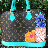 Louis Vuitton Painted Alma Hibiscus Pine