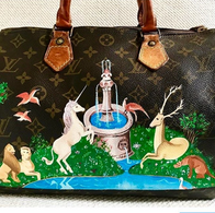Louis Vuitton LV painted the last unicor