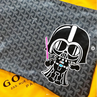 Darth Vader Painted Custom Goyard Star W