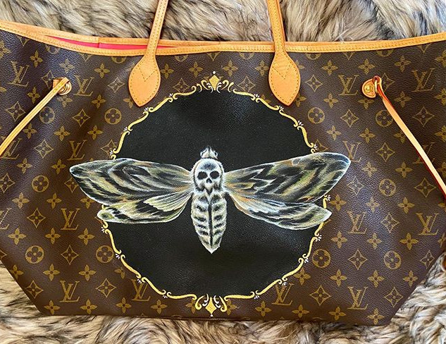 Moth Painted LV