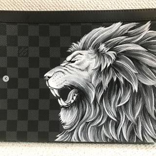 Custom Louis Vuitton Lion Graphite for N