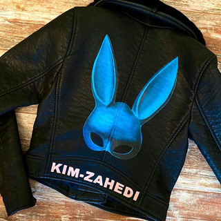 Custom Painted Leather Jacket
