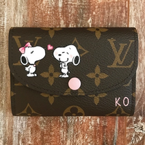snoopy customized on Louis Vuitton walle