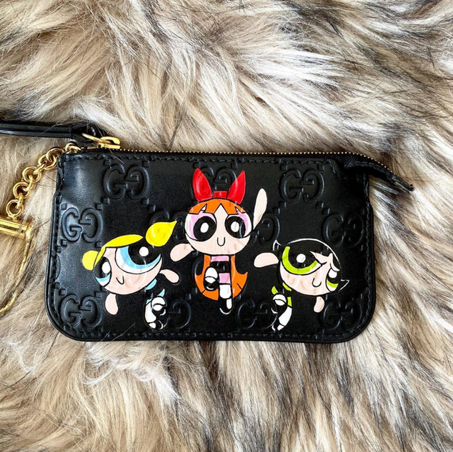 power puff girls custom painted Gucci