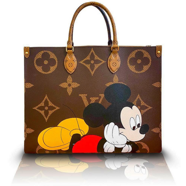 Mickey Mouse DisneyHand Painted Louis Vu