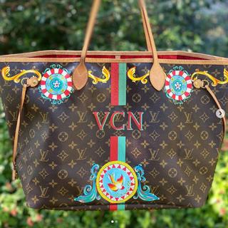 Sicilian Designed Painted Louis Vuitton