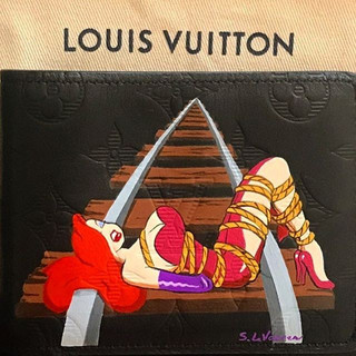 Jessica Rabbit custom painted Lv Louis V