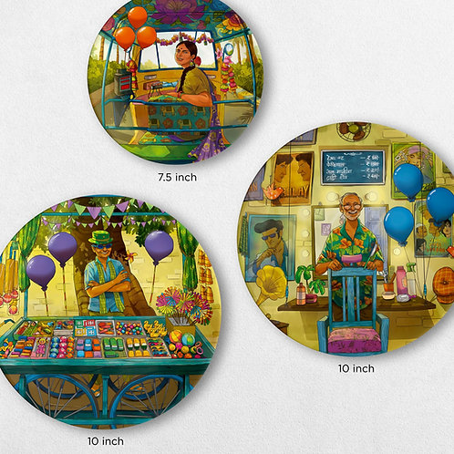 The Colourful Quirks (set of 3)