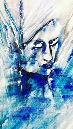 Lady in Ice