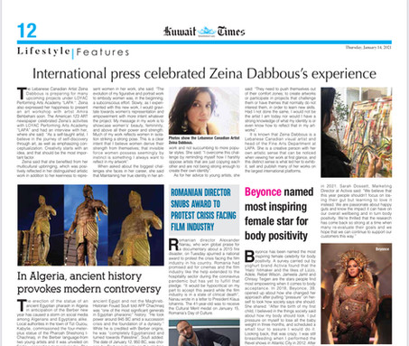 Kuwait Times Feature