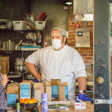 WARM works with Charlottesville chef to provide meals for homeless during pandemic