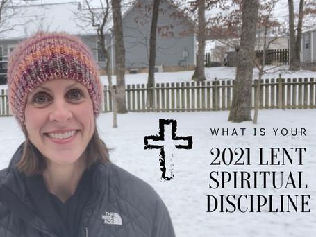 Lent Spiritual Discipline