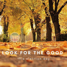 Look for the good this election day