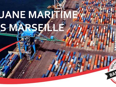 Douane maritime Marseille