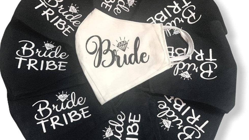Bride Squad Masks