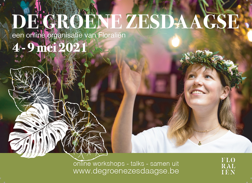 De Groene Zesdaagse Axelle Inghels Karo Van Moorhem Organisatie & Management Arteveldehogeschool Gent stage Floraliën