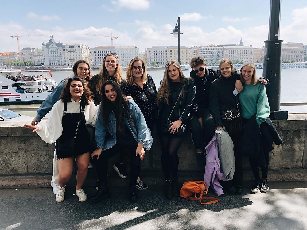 International Week on Tour Officemanagement Arteveldehogeschool Gent Madrid Boedapest Porto Münster Salamanca Steffi Dehondt